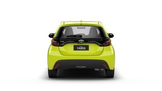 2021 Toyota Yaris Mxpa10R Ascent Sport Electric Green 1 Speed Constant Variable Hatchback