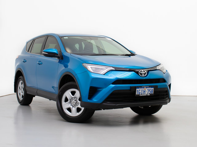 Used Toyota RAV4 ZSA42R MY17 GX (2WD), 2017 Toyota RAV4 ZSA42R MY17 GX (2WD) Blue Continuous Variable Wagon