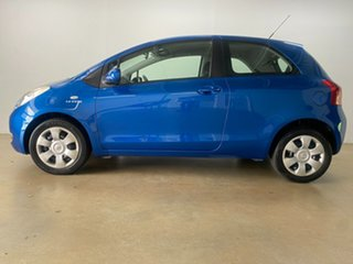 2005 Toyota Yaris NCP91R YRS Blue 4 Speed Automatic Hatchback.
