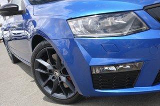2015 Skoda Octavia NE MY15.5 RS Sedan DSG 162TSI Race Blue 6 Speed Sports Automatic Dual Clutch.