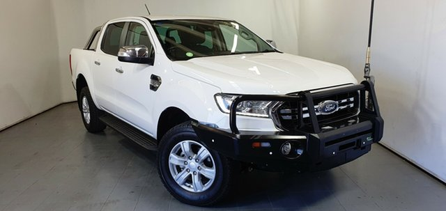 Used Ford Ranger PX MkIII 2019.00MY XLT Elizabeth, 2018 Ford Ranger PX MkIII 2019.00MY XLT White 6 Speed Sports Automatic Utility