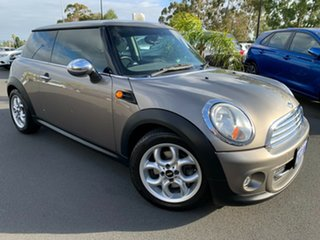 2011 Mini Hatch R56 LCI Cooper Steptronic Gold 6 Speed Sports Automatic Hatchback.