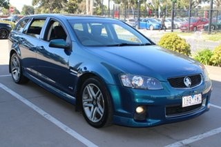 2011 Holden Commodore VE II SV6 Blue 6 Speed Automatic Sportswagon.