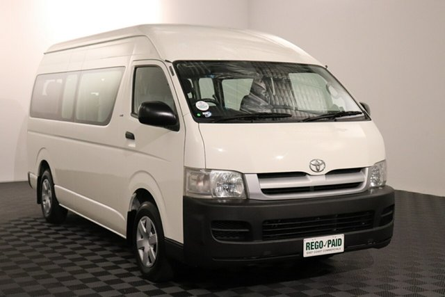 Used Toyota HiAce TRH223R Commuter High Roof Super LWB Acacia Ridge, 2007 Toyota HiAce TRH223R Commuter High Roof Super LWB White 4 speed Automatic Bus