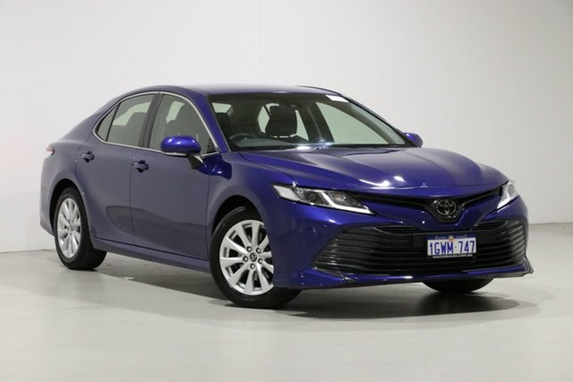 Used Toyota Camry ASV70R MY19 Ascent Bentley, 2019 Toyota Camry ASV70R MY19 Ascent Blue 6 Speed Automatic Sedan