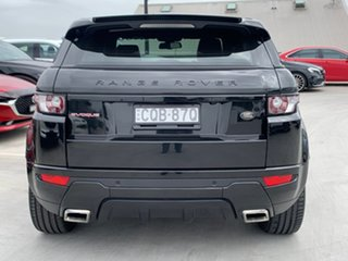 2013 Land Rover Range Rover Evoque L538 MY13 SD4 CommandShift Dynamic Black 6 Speed Sports Automatic.