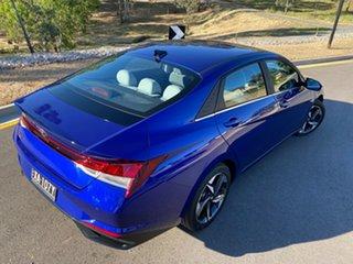 2020 Hyundai i30 CN7.V1 MY21 Elite Intense Blue 6 Speed Auto Sequential Sedan