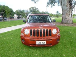 2009 Jeep Patriot MK Sport Red Manual Wagon.