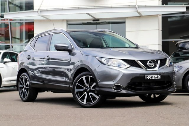Used Nissan Qashqai J11 TI Sutherland, 2017 Nissan Qashqai J11 TI Grey 1 Speed Constant Variable Wagon