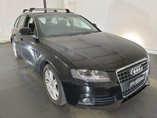 2008 Audi A4 B8 8K Avant Multitronic Black 8 Speed Constant Variable Wagon.