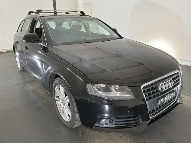 Used Audi A4 B8 8K Avant Multitronic Maryville, 2008 Audi A4 B8 8K Avant Multitronic Black 8 Speed Constant Variable Wagon