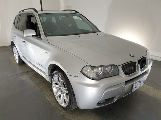 Used BMW X3 E83 MY09 xDrive20d Steptronic Lifestyle Maryville, 2008 BMW X3 E83 MY09 xDrive20d Steptronic Lifestyle Silver 6 Speed Automatic Wagon