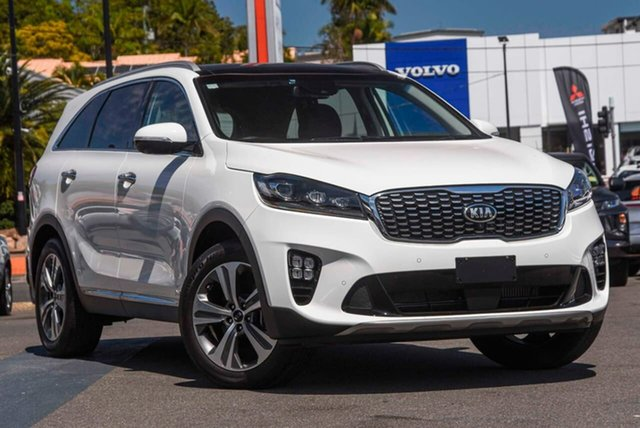 Used Kia Sorento UM MY19 GT-Line AWD Mount Gravatt, 2019 Kia Sorento UM MY19 GT-Line AWD White 8 Speed Sports Automatic Wagon