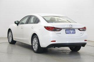 2014 Mazda 6 GJ1031 Sport SKYACTIV-Drive White 6 Speed Sports Automatic Sedan