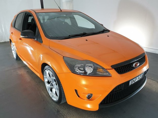 Used Ford Focus LV XR5 Turbo Maryville, 2010 Ford Focus LV XR5 Turbo Orange 6 Speed Manual Hatchback