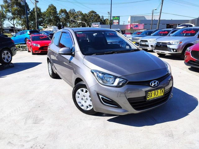 Used Hyundai i20 PB MY14 Active Liverpool, 2014 Hyundai i20 PB MY14 Active Grey 4 Speed Automatic Hatchback
