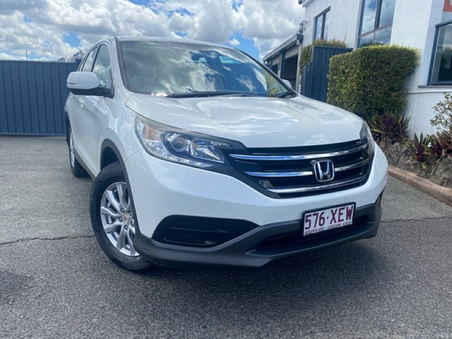 Used Honda CR-V RM VTi Slacks Creek, 2013 Honda CR-V RM VTi White 5 Speed Automatic Wagon