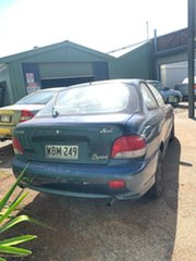 1997 Hyundai Excel X3 Sprint Blue 4 Speed Automatic Hatchback.