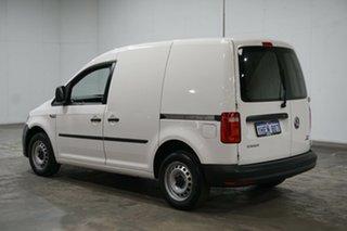 2016 Volkswagen Caddy 2KN MY16 TSI160 SWB Runner Candy White 5 Speed Manual Van.