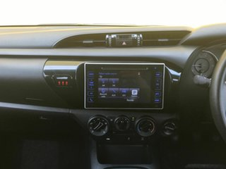 2016 Toyota Hilux GUN126R SR Double Cab Silver 6 Speed Manual Cab Chassis
