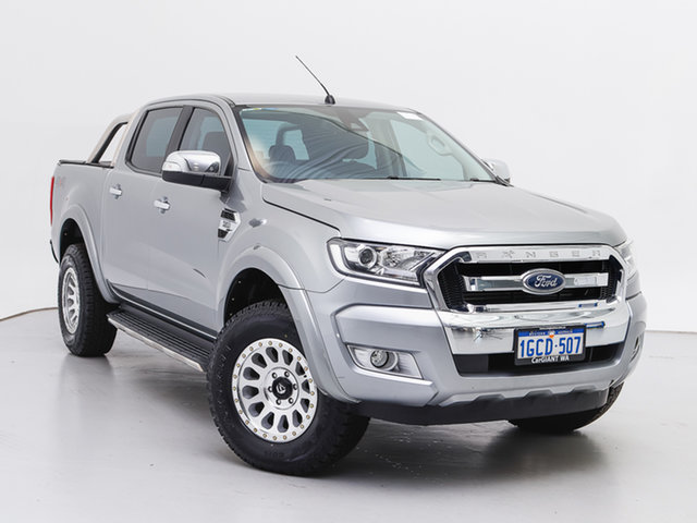 Used Ford Ranger PX MkII MY17 XLT 3.2 (4x4), 2017 Ford Ranger PX MkII MY17 XLT 3.2 (4x4) Silver 6 Speed Automatic Double Cab Pick Up