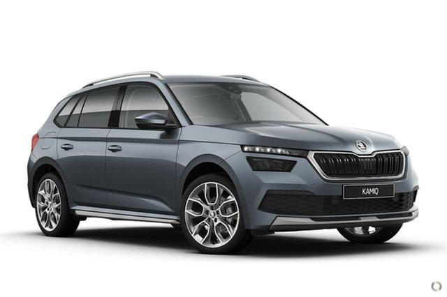New Skoda Kamiq NW MY21 85TSI DSG FWD Seaford, 2020 Skoda Kamiq NW MY21 85TSI DSG FWD Grey 7 Speed Sports Automatic Dual Clutch Wagon