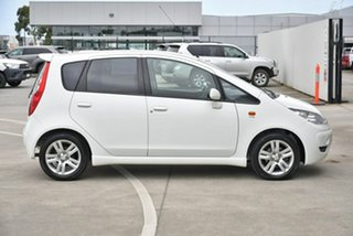 2009 Mitsubishi Colt RG MY09 VR-X White 1 Speed Constant Variable Hatchback