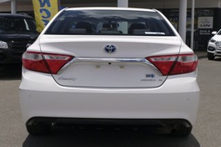 2016 Toyota Camry AVV50R Atara S Diamond White 1 Speed Constant Variable Sedan Hybrid