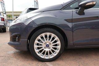2014 Ford Fiesta WZ Sport Grey 5 Speed Manual Hatchback.