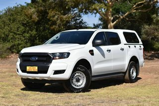 2017 Ford Ranger PX MkII XL White 6 Speed Sports Automatic Utility.