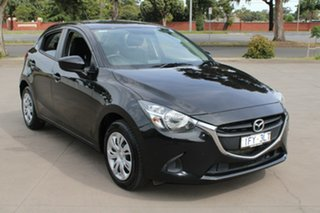 2016 Mazda 2 DJ MY16 Neo Black 6 Speed Manual Hatchback.