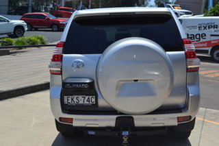 2013 Toyota Landcruiser Prado KDJ150R GXL Silver 5 Speed Sports Automatic Wagon