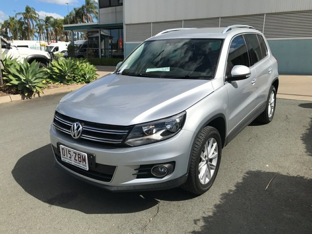 Used Volkswagen Tiguan 5N MY16 132TSI DSG 4MOTION Acacia Ridge, 2015 Volkswagen Tiguan 5N MY16 132TSI DSG 4MOTION Silver 7 speed Automatic Wagon