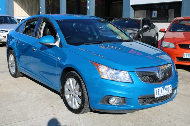 Used Holden Cruze JH MY13 CDX West Footscray, 2013 Holden Cruze JH MY13 CDX Blue 6 Speed Automatic Sedan
