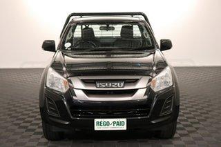 2017 Isuzu D-MAX MY17 SX Black 6 speed Manual Cab Chassis.