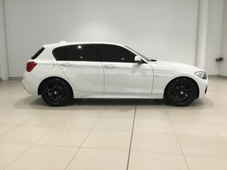 2016 BMW 1 Series F20 LCI 118i Steptronic Sport Line White 8 Speed Sports Automatic Hatchback.