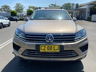 2017 Volkswagen Touareg 7P MY17 V6 TDI Tiptronic 4MOTION Adventure Gold 8 Speed Sports Automatic.