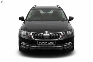 2020 Skoda Octavia NE MY20.5 110TSI DSG Black 7 Speed Sports Automatic Dual Clutch Wagon.