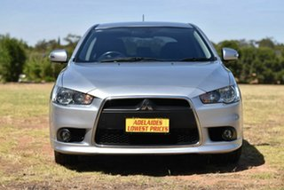 2015 Mitsubishi Lancer CJ MY15 GSR Sportback Silver 5 Speed Manual Hatchback.