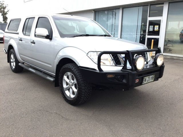 Pre-Owned Nissan Navara D40 MY11 ST-X Cardiff, 2011 Nissan Navara D40 MY11 ST-X Silver 6 Speed Manual Utility