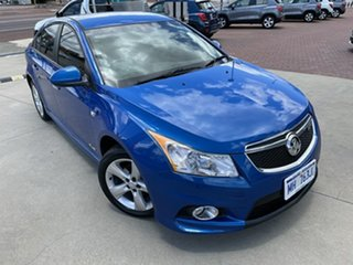 2011 Holden Cruze JH Series II MY11 SRi-V Blue 6 Speed Manual Sedan.