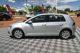 2013 Volkswagen Golf VII 90TSI Comfortline Silver 6 Speed Manual Hatchback.