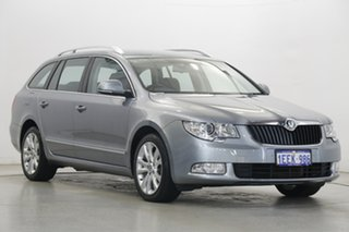 2013 Skoda Superb 3T MY13 Ambition DSG 103TDI Grey 6 Speed Sports Automatic Dual Clutch Wagon