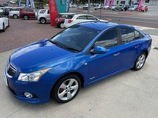 2011 Holden Cruze JH Series II MY11 SRi-V Blue 6 Speed Manual Sedan