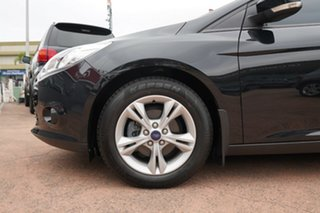 2013 Ford Focus LW MK2 Trend Black 6 Speed Automatic Hatchback.