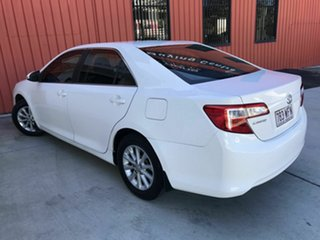 2012 Toyota Camry ASV50R Altise White 6 Speed Sports Automatic Sedan.