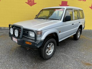 1998 Mitsubishi Pajero NL GL Silver 5 Speed Manual Wagon
