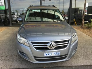 2008 Volkswagen Tiguan 5NC MY09 103 TDI Grey 6 Speed Tiptronic Wagon.