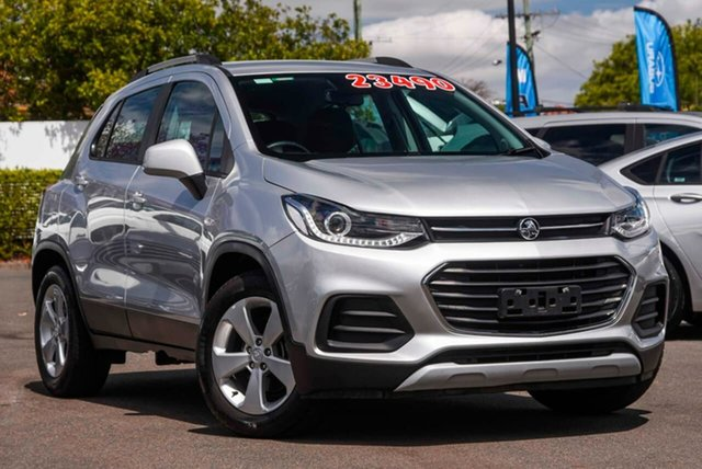 Used Holden Trax TJ MY19 LS Mount Gravatt, 2019 Holden Trax TJ MY19 LS Silver 6 Speed Automatic Wagon