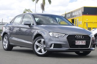 2018 Audi A3 8V MY18 Sport S Tronic Limited Edition Monsoon Grey 7 Speed.